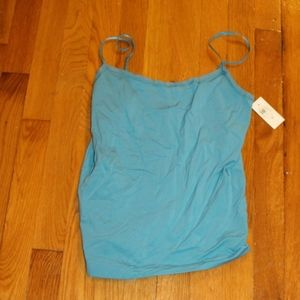 Ann Taylor Teal Camisole style top